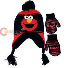 Sesame Street Elmo Laplander Hat with Glove