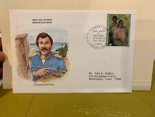 French Polynesia 1978 FDC  Gauguin  (Folder4085)