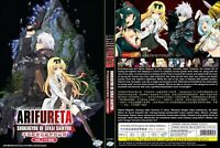 ANIME DVD ENGLISH DUBBED Arifureta Shokugyou De Sekai Saikyou(1-13End) NIB