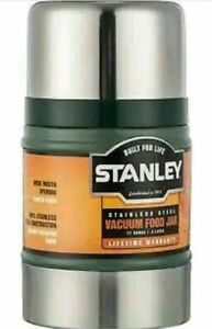 0.5L STANLEY CLASSIC VACUUM FOOD JAR FLASK STAINLESS STEEL HOT COLD THERMOS NAVY