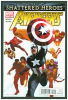 Avengers #19 VF/NM Marvel Comics 2012 Captain America Cover Shattered Heroes