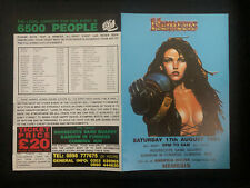 Nemesis Acid House Rave Flyer 1991