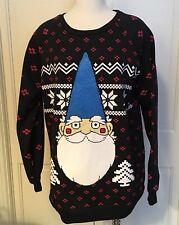 XL Christmas GNOME Womens SWEATSHIRT Shirt JUMPER NWOT Rare