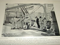 1896 The Spar Deck Batterie Hms Camperdown Marines Waffen