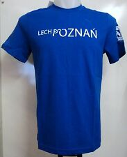 LECH POZNAN S/S BLUE GRAPHIC TEE SHIRT BY PUMA SIZE ADULTS SMALL BRAND NEW