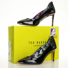 Ted Baker Vyixin Black Patent Leather Pump - Size 8 US (39 EU)