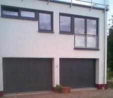Garagentor Sektionaltor  S - Sicke Stucco 3000 x 2250mm RAL 7016