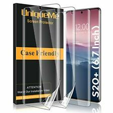 3 Pack Samsung Galaxy S20+ Plus Screen Protector Self Healing HD Clear TPU