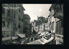 Italy BOLZANO Piazza Delle Erbe c1956 RP PPC