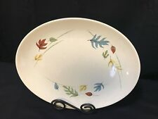 "Franciscan ""AUTUMN"" Fall Colored Leaves ~ Serving Platter ~ 13 1/2"" x 10 1/2"""