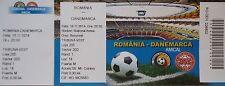 mint TICKET 18.11.2014 Romania Rumänien - Denmark Dänemark