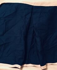 Southern Tide Prep School Twin Blue Tailored Bed Skirt Cotton New