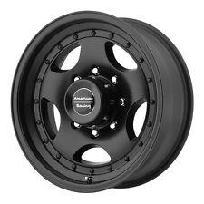 (4) 16 inch 16x7 Chevy 8 Lug K2500 2500HD Truck BLACK Rims 8x6.5