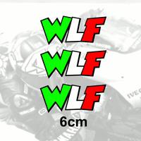 Valentino Rossi WLF Stickers 3 x 6cm autocollant pegatina aufkleber adesivo