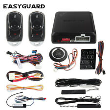 Easyguard pke car alarm security system auto start remote start stop push button