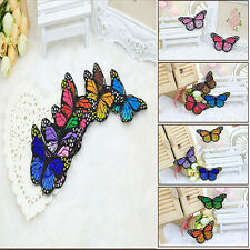 20*articles de couture Tissu la main nouveau durable adorable papillon DIY décor