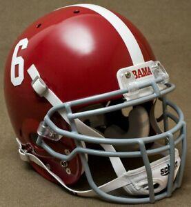 ALABAMA CRIMSON TIDE NCAA Schutt XP Full Size AUTHENTIC Gameday Football Helmet