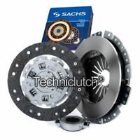 SACHS 3 PART CLUTCH KIT FOR VW LT28-50 BUS 2.4 D