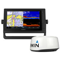 Garmin GPSMAP 942xs Plus GPS/Fishfinder Combo with GMR 18HD+ Radar 010-02321-51