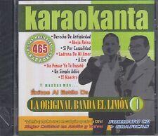 La Original Banda el Limon Pistas Musicales & Karaoke New Nuevo sealed