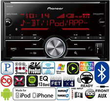 Pioneer 2 Din Media Player Radio Bluetooth Pandora Iphone USB MVH-X690BS NO CD