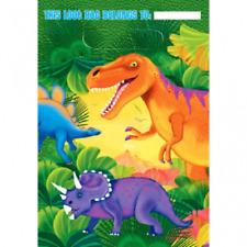 Prehistoric Folded Dinosaur Birthday Loot Party Bags (8)