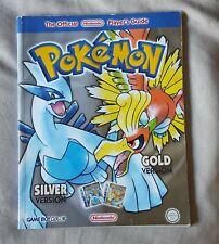 Official Nintendo Pokemon Gold & Silver Player's Guide - Gameboy Colour Version