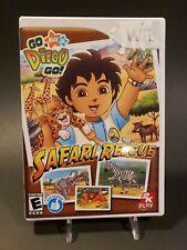 Go Diego Go Safari Rescue [Nintendo Wii, 2008] Complete CIB FREE SHIPPING!