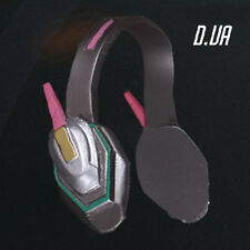 Free shipping! OW Overwatch D.VA Headset Headphone Game Cosplay Prop Hot Sale