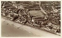 East Sussex Vintage Postcard, Hastings showing Cricket Ground Pitch & Beach JQ5