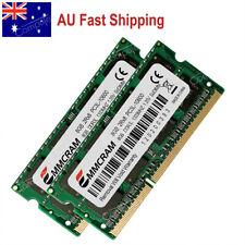 AU 16GB 2X8GB PC3-10600 DDR3-1333 204-PIN CL9 RAM SODIMM Laptop Memory RAM