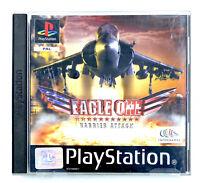 Eagle One Harrier Attack Avec notice TBE Jeu PS1 Playstation PAL