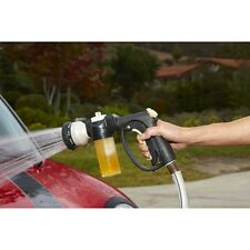 Car Wash Nozzle With Soap Dispenser For Home Car Garden Auto Shop Camper & Boat