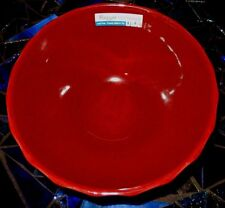 Royal Haeger Maroon With Black Speckles Bowl~New With Tags~Fast Shipping!