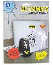 DC COMICS GADGET DECALS 18 Vinyl Laptop Stickers Batman SUPERMAN