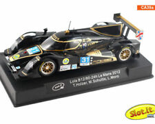 SLOT IT SICA39A LOLA B12/80 24H LE MANS 2012 NEW 1/32 SLOT CAR IN DISPLAY CASE