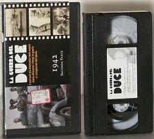 LA GUERRA DEL DUCE - 1942 seconda parte FILM VHS