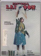 National Lampoon Humor Magazine April 1978 Apr National Lampoon Inc