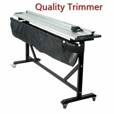 60 Inch Rotary Paper Trimmer Cutter Machine With Support Stand Large Format