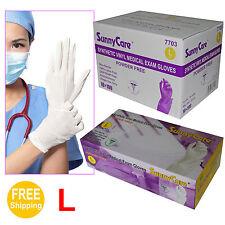 SunnyCare® 1000 Powder Free Synthetic Vinyl Exam Gloves (Latex Nitrile Free)3G-L