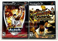 Street Fighter Anniversary Collection + Street Fighter Alpha Anthology - PS2