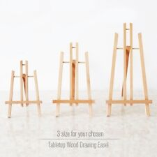 Pine Wood Easel Tabletop Drawing Artist Fold Standing Easels Painting Whiteboard