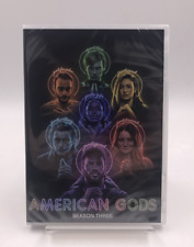 American Gods : The Complete Season 3 (DVD, 3-Disc Set) Brand New Fast Shipping