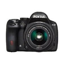 USED Pentax K-50 16MP Kit with DAL 18-55mm WR Black Excellent FREE SHIPPING