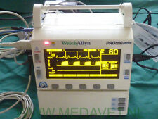 Protocol Propaq Encore Type206 SPO2 CO2 EKG IBP NIBP Temp Kapnograf  Welch Allyn