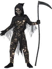 Reaper Boys Child Grim Halloween Death Horror Halloween Costume