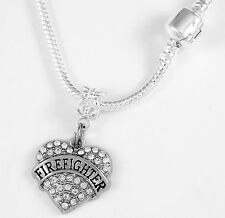 Firefighter Necklace Fireman Gift Firefighter chain Fireman Present Fd Pendent
