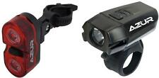 AZUR Dual Eyes Taillight & 400 Lumen USB Lithium Battery Headlight Combo