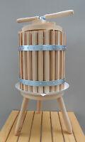 Wooden Wine Press Grape Crusher Apple Cider Fruit Juice Press 30 Liter 7.9 Gal