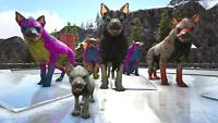 Ark Survival Evolved Xbox One PvE Unleveled Randomly Colored 200+ Hyaenodon